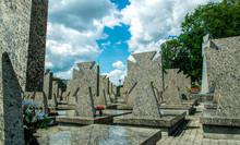New War Cemetery In Europe. Lv...