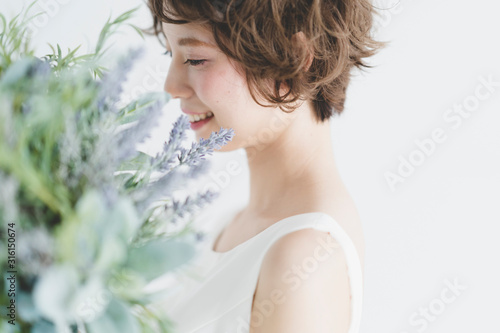 Cuadros en Lienzo 花嫁