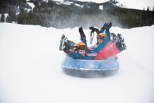 Playful Brothers Inner Tubing ...