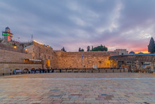 View Of The Western Wall Plazz...