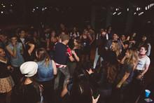 Milennials Dancing And Partyin...