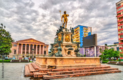 Photo The Neptune Fountain in Batumi, Georgia