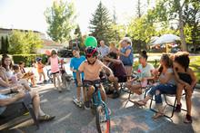 Kids Parade At Summer Neighbor...