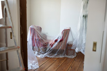 Drop Cloth Over Furniture In R...