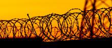 Barbed Wire On The Fence Again...