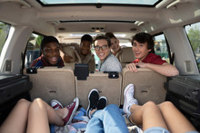 Teenagers In SUV