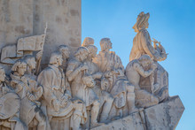 Padrão Dos Descobrimentos Or Monument To The Discoveries A Monument On The Northern Bank Of The Tagus River Estuary, In The Civil Parish Of Santa Maria De Belem Lisbon