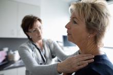 Female Doctor Examining Patien...