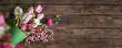 Leinwanddruck Bild - Easter background