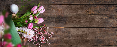 Obraz Easter background - fototapety do salonu