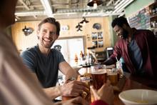 Smiling Man Beer Tasting In Br...