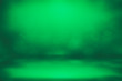 canvas print picture - ST Patrick s day Green bokeh lights defocused for design Patrick's day background