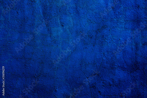 Leinwand Poster Abstract textured background in blue