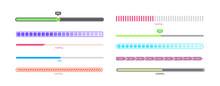 Isolated Progress Bar Set - Di...
