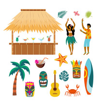 Tropical Hawaii Summer Vacatio...