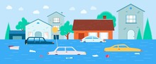 Houses And Transport Flooding ...