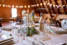 Elegant, Decorated Wedding Rec...