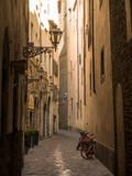 Fototapeta Uliczki - Italia, Toscana, Firenze, un vicolo del centro storico.