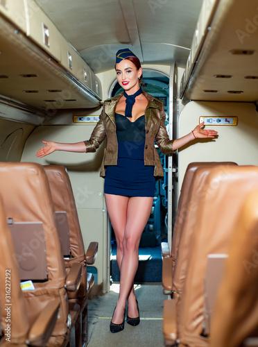 Photo Flight attendant uniform