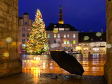 Tallinn Rainy Evening Christma...
