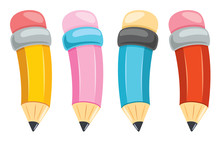 Colorful Pencils For Kids Educ...