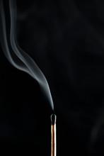 Extinguished Matchstick Smoke ...