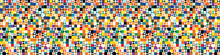 Funky Geometric Mosaic Vector ...