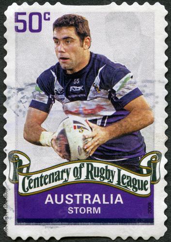 Photo AUSTRALIA - 2008: shows The Melbourne Storm, Centenary of Regby League, 2008