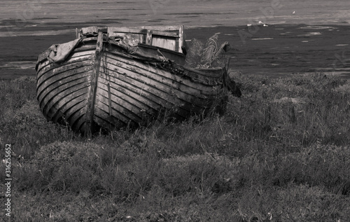 фотография Abandoned Boats in Mistley, Essex