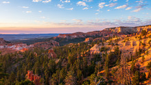 Sunrise In Bryce Canyon Nation...