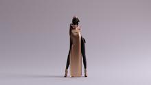 Bronze Black Futuristic Woman ...