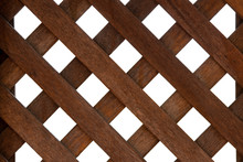 Wooden Wall Pattern Is Square ...