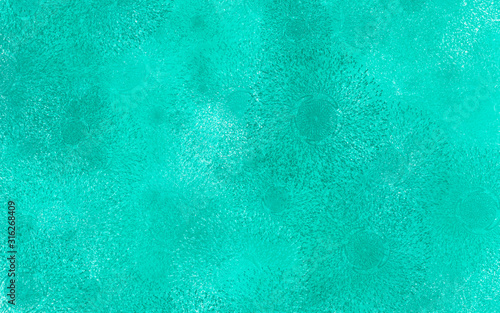 Photo Fondo de salpicaduras de color azul granulado.