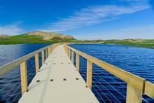 Floating Boardwalk Through The...