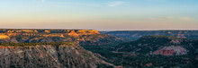 The Canyon Winds Through Palo Duro Canyon State Park Near Amarillo, Texas.