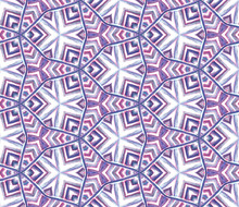 Ethnic Texture. Hand Drawn Pai...