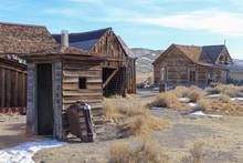 Gold Rush Era Ghost Town In Bodie, California