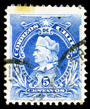 Postage Stamp Printed In Chile...