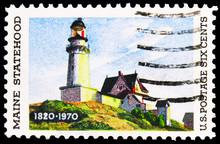 Postage Stamp Printed In Unite...