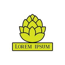 Green Lotus Flower Logo - Clip...