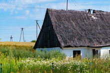 One Old Thatched Cottage In Fi...
