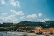 Słoneczna Grecja, wyspa Kreta, wakacyjne widoki za granicą, piękno Greckiej wyspy