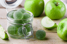 Apple Green Marmalade Candy In...