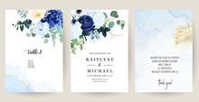 Classic Blue, White Rose, White Hydrangea, Ranunculus, Anemone, Thistle Flowers