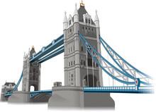 Tower Of London Bridge Vector ...