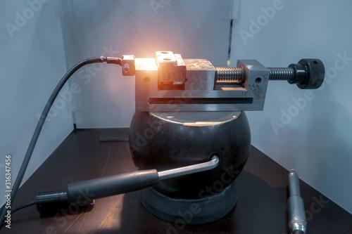 Workstation for ultra-precise laser spot welding