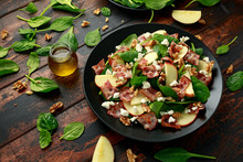 Bacon, Apple Salad With Spinac...