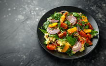 Vegetable Millet Salad With Re...