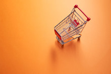 Iron Small Supermarket Trolley...