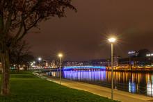 La Nuit à Liège En Bord De Meuse